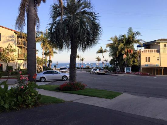 Motel 6 Santa Barbara Beach Front View