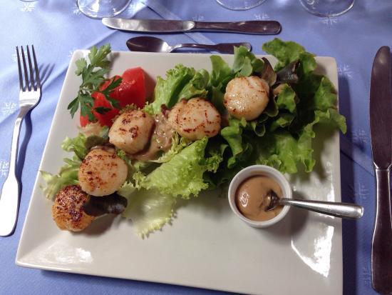 Hotel de la Tour : Menu à 28 € avec fromage et dessert : belle découverte gastronomique ! Régal en toute simplicité