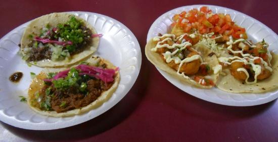 โนกาเลส, อาริโซน่า: Dressed tacos