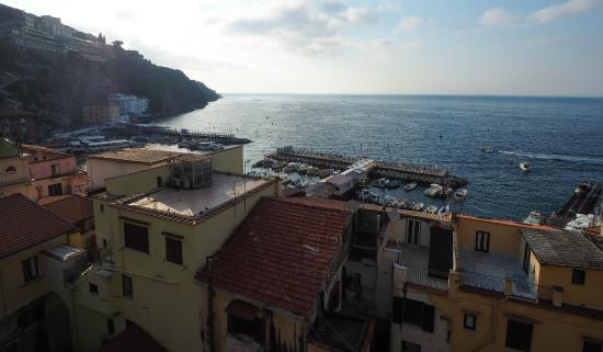 View from the top overlooking the harbour picture of ristorante bagni sant anna sorrento - Bagni sant anna sorrento ...