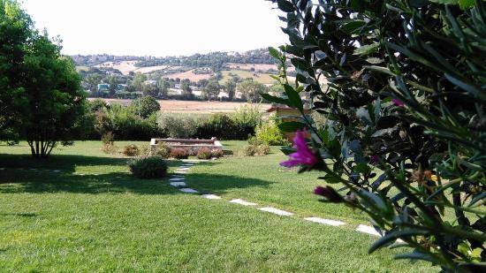 B&B Bellafiora: Vista dal giardino
