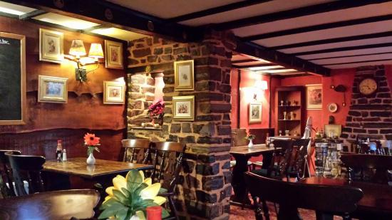 Dulverton, UK: Badgers holt pub