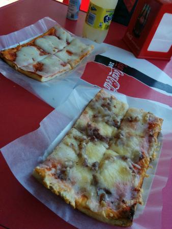 Pizza a taglio Orchidea Blu