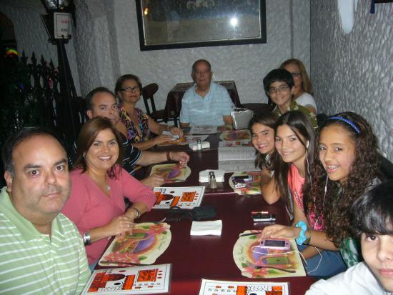 La Cueva del Chicken Inn: With Family