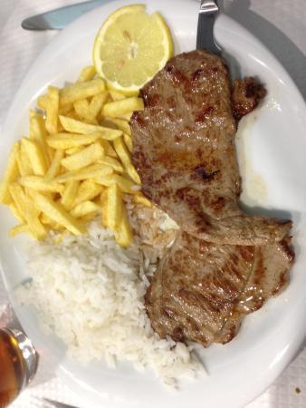 Marisqueira Santiago: Steak