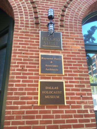 Dallas Holocaust Museum: Beautifully done museum