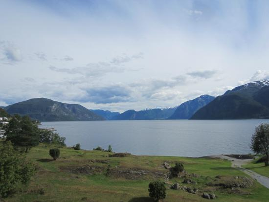 Sognefjord Hotel: The view from the room