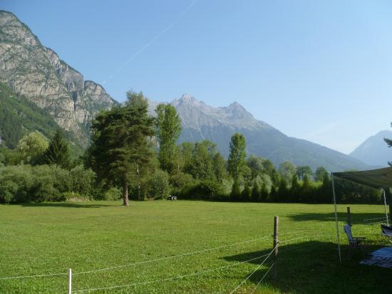 Ferme Noemie Campground : View from paddock