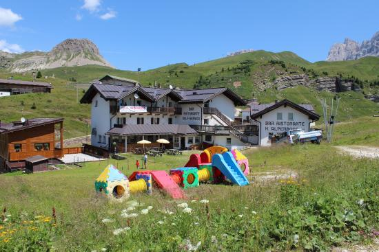 Alpenrose Hotel: Hotel Alpenrose a Passo Rolle per bambini