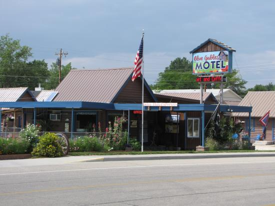 Blue Gables Motel: Office and coffee shop