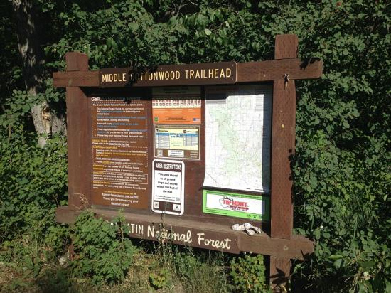 Middle Cottonwood Trailhead