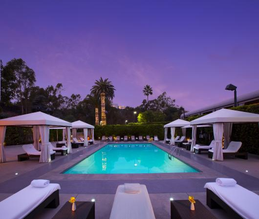Luxe sunset boulevard hotel los angeles californie for Site hotel de luxe