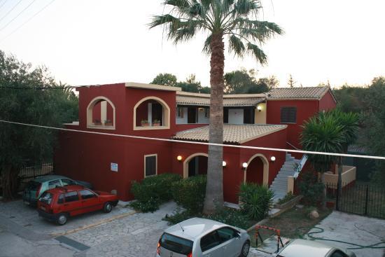 Scheria Hotel: View from room