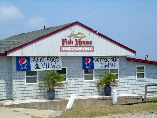 the marina behind the fish house restaurant picture of On fish house restaurant
