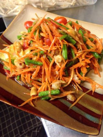 Little Thai Chef: Some of the dishes on the Thai cooking course