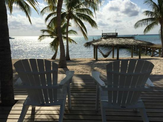 Little Cayman Beach Resort: Put your feet up!