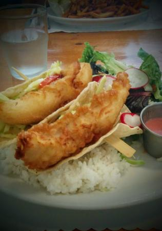Williams Family Diner: Yummy Fish Tacos