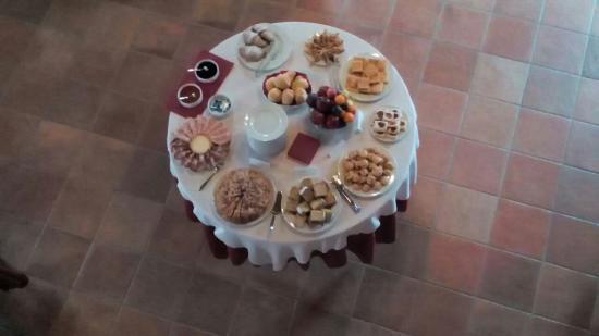 Agriturismo San Salvar: Fantastico buffet a colazione