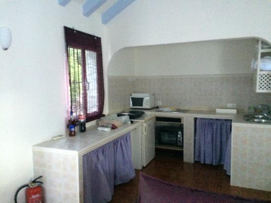 Casas Rurales Los Algarrobales : Cocina