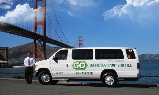 San Bruno, CA: GO Lorrie's Airport Shuttle