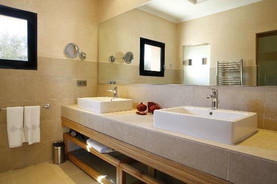 Palais Majuba: salle de bain