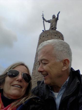 Peru Travel Company: Monumento a Pachacutec...lleno de historia e informacion...