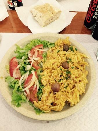 Restaurante Pendoa: Bacalao riquísimo no, lo siguiente ...