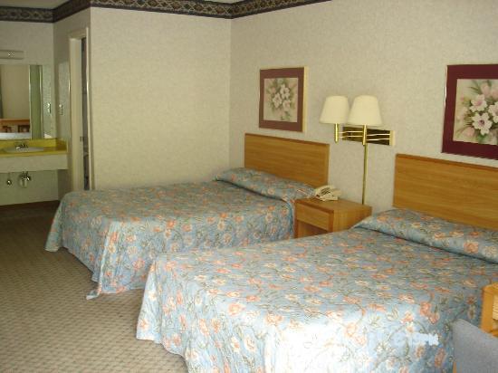 Budget Inn: Double Bedroom