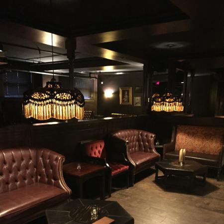 Inside Carrie Nation Restaurant
