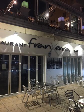 Franxerra: Front of the restaurant