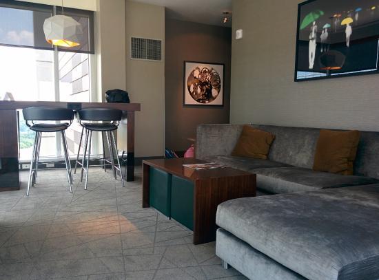 Living room - Picture of Hyatt Regency Tysons Corner Center ...