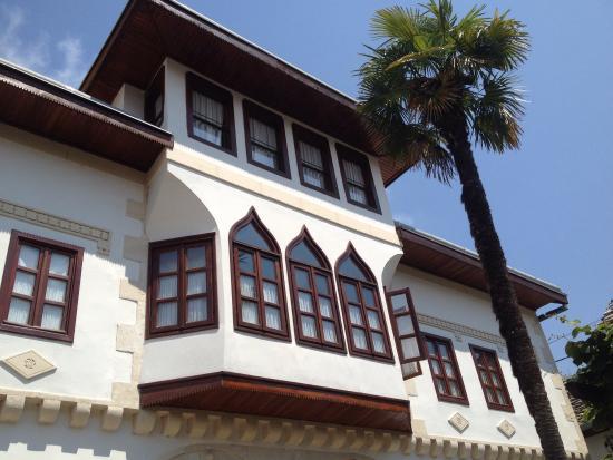 Bosnian National Monument Muslibegovic House Hotel: Vackert ottomanskt hus med hotell