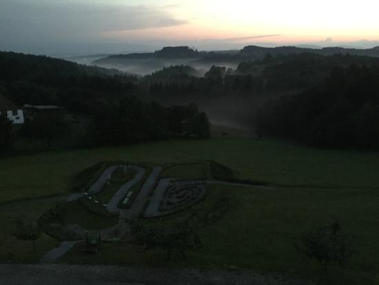 Hotel Liebmann: sunset and fog