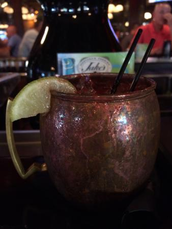 Jake's Restaurant : Great Moscow Mule-YUM!!!