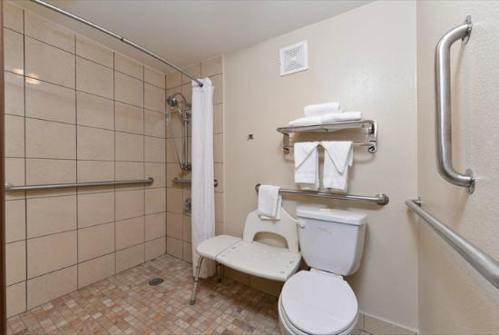 Quality Inn: Handicap Accessible Bathroom
