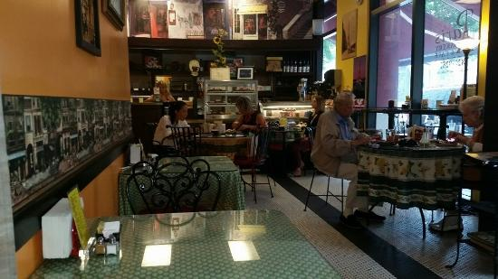paris cafe inside picture of paris bakery cafe west palm beach tripadvisor. Black Bedroom Furniture Sets. Home Design Ideas