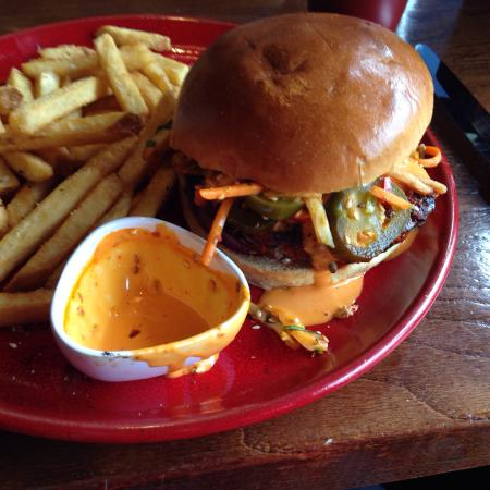 TGI Friday's - Newcastle-upon-Tyne: Amazing burgers!!!