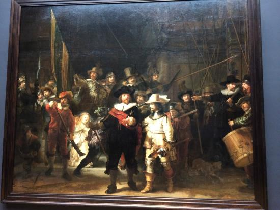 Context Amsterdam Tours: Night Watch - Rijks Museum