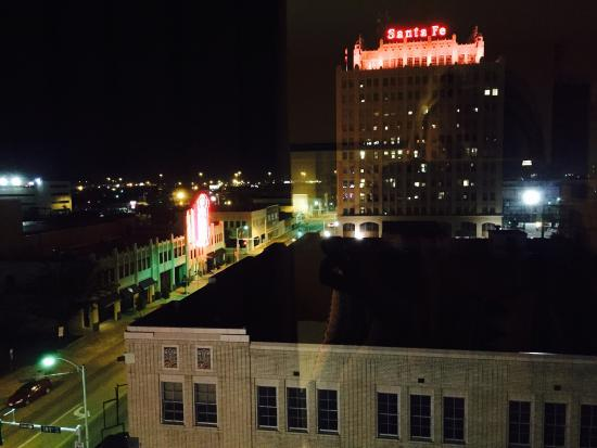 Courtyard Amarillo Downtown: View from our room
