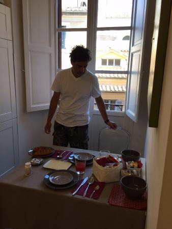 NTB Roma: Desayuno