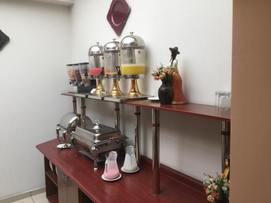 Casona Plaza Hotel AQP : Recepción y Restaurant del Hotel