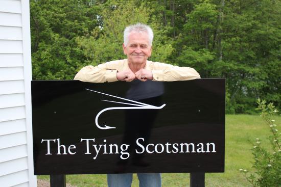 Margaree Forks, Canada: The Tying Scotsman - Alex Breckenridge