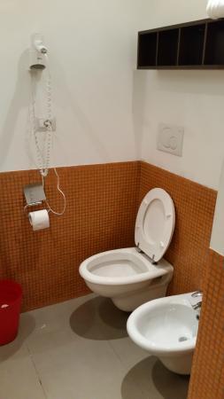 Hotel Nizza: Vista do banheiro