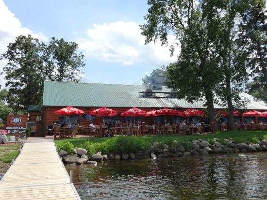 Ernie's On Gull Lake: Ernie's from the Dock