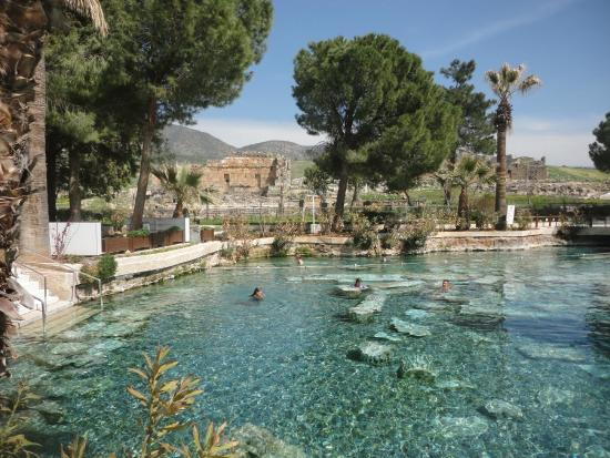 Pileta de cleopatra picture of pamukkale thermal pools for Piletas naturales argentina