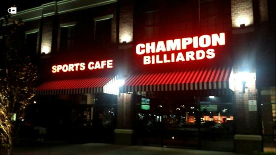 Champion Billiards Sports Cafe