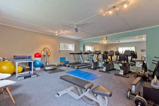 Hlangana Lodge: Fully equipped gym