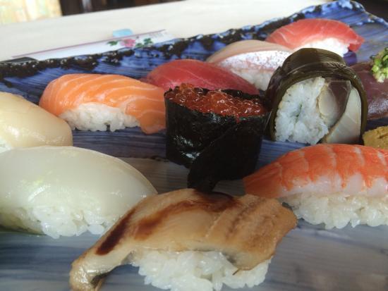 Sushi Taka Ebisu: おまかせランチ