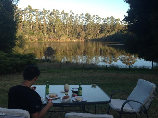 Jenny's Lake : Dinner with the lake