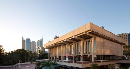Perth concert hall theater perth concert house 5 st for 5 st georges terrace perth